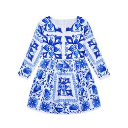 2019 Automne Mode 1-10Y Fille Robe À Manches Longues Parti Princesse Bébé Fille Vêtements Enfants Tutu Infantil Mariage Enfants Vêtements ? partir de fabricateur