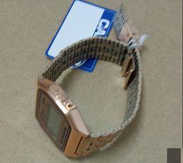 Canada KF91W 2000 A159W ultra-mince avec bordure en brique B640W étanche rétro petit carré business casual A158W montre électronique diamant F91 Offre