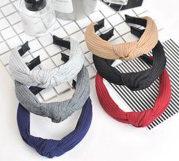 nastro accessori coreani Sconti Stile coreano Cute Leopard Dots labbro fiore di stampa Bunny Rabbit Ear Ribbon Headwear Bastoni di capelli Filo di metallo Sciarpa Fascia per capelli Accessori per capelli