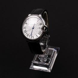 relógios acrílico Desconto 1 pcs Limpar Transparente Acrílico Bracelet Watch Display Titular Arc-shaped C-Modelo de Jóias Stand Rack Loja de Varejo Loja Showcase