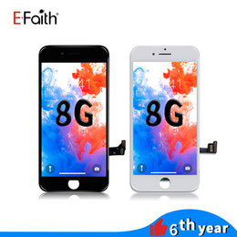 Telas lcd para telefones on-line-Tela lcd de alta qualidade para o iphone 8 display lcd touch digitador assembléia repair substituição para o telefone 8 frete grátis dhl