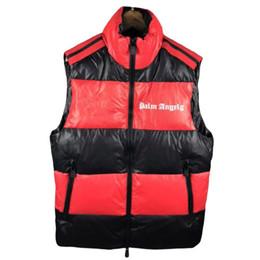 Designer mens gilet online-Mens Designer giù conferisce PALM ANGELI Giacca Joint Sezione M Giacche lusso Patchwork Thick abiti da uomo 2020 inverno spesso Vest 4 Styles.Y03