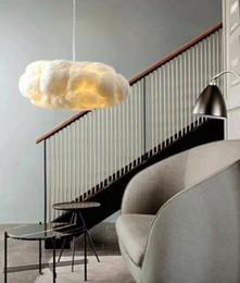 nettes schlafzimmer pendelleuchten Rabatt 2019 wolke pendelleuchte licht lustre nordic lights hotel lobby silk romantische nette lichterkette moderne für wohnzimmer schlafzimmer bar cafe e27