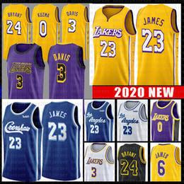 2019 basketball trikot jugend LeBron James 23 6 Basketball Jersey Kobe Bryant 24 Anthony Davis 3 Kyle 0 Kuzma NCAA Trikots Crenshaw rabatt basketball trikot jugend