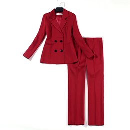 professional clothing style Coupons - Women Clothes Spring New Chic Casual Suit Female British Style Double-breasted Professional Slim Fashion Women Small Suit