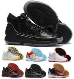 nueva derrick rose Rebajas D Rose 10 10s zapatos de baloncesto zapatillas de Derrick Rose MVP X décimo rebote Negro Alto hombre hombres 2020 nuevos de la llegada patea los zapatos auténticos