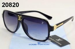 2019 vidros de marca da marca v Marca Steampunk L e V óculos de sol mulheres óculos de sol homens de metal frame ponte dupla uv400 lense Retro Vintage óculos de sol Goggle com caixa vidros de marca da marca v barato