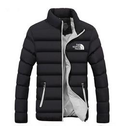 abrigo de piel azul abrigo hombres Rebajas Mens de la manera caliente de la venta ocasional de la cremallera de manga larga de las chaquetas otoño invierno Escudo Escudo Pure Color de la camisa de algodón de alta calidad más el tamaño M-XL