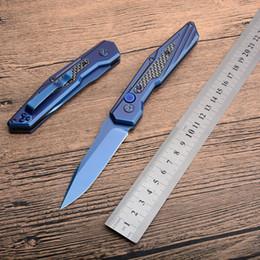 Argentina TT68 Cuchillo plegable 9cr13MOV Hoja de acero + mango de fibra de carbono outddor Cuchillo de bolsillo de caza para acampar Supervivencia táctica EDC herramientas de mano Suministro
