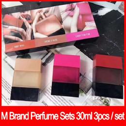 Argentina 2019 Famosa marca de maquillaje set Kollection perfume set 3 en 1 Incienso fragancia desodorante 30ML X 3 sets de perfume envío gratis Suministro
