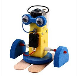 Ciência nova para crianças on-line-Novas Crianças Ciência e Tecnologia Pequenas Criações Material Intelectual Ciência e Educação Brinquedos Pequenas Invenções Robô Rastejante Students'Speci
