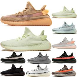 Канье Уэст v2 для мужчин дизайнер тройной кроссовки тренажеры женщин кунжутное синий замороженные кремово-желтый Зебра разводят Спорт свободного покроя обувь кроссовки размер 13 supplier frozen shoes sizes от Поставщики размеры замороженной обуви
