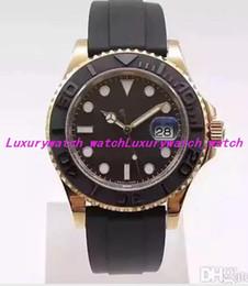 oro rosa eta Rebajas Reloj de lujo Mejor Calidad Versión V7 40mm 116655 Bandas de caucho 18k Oro Rosa ETA 3135 Movimiento Automático Impermeable Reloj para Hombre Relojes