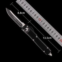 2019 coltello twosun azione auto Tattico Automatico MICRO-TECH coltello UTX 85 Coltelli auto coltelli CNC taglierina tattica coltelli da campeggio campeggio tasca pieghevole coltelli