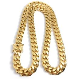 2019 amerikanische goldkette 24k 2019 men's new fashion trend high quality luxury hot six-sided grinding faucet buckle rough necklace hip hop exquisite DJ accessories