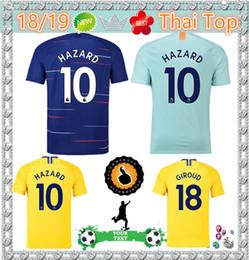 Thailand AAA HAZARD JORGINHO soccer jersey 2019 MORATA RUDIGER GIROUD  jersey 18 19 KANTE Willian jersey 18 19 football kit shirt Camisetas da2658686