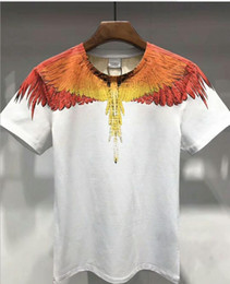 New Angel Wings Designer T Shirts Hip Hop Mens Designer T Shirts Marca de moda Hombre Womens manga corta S-XXL desde fabricantes