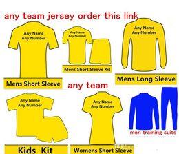 Squadre di calcio del club online-2018 2019 New soccer jerseys 17 18 19 club maillot de collegamento ordine piede per qualsiasi squadra Camiseta de futbol top thial e qualità maglie da calcio