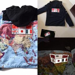 Мода отрезной куртка мужская куртка онлайн-Бренд улица Куртка для человека национальный флаг свободные пальто со съемной крышкой серебристые ветровка синий черный мода популярные 98hd D1
