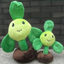 película de mariquita Rebajas Plants vs Zombies juguete relleno felpa Blover 35CM / 25CM alto (grande / mediano tamaño)