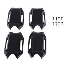 Heckstoßstange bmw online-25mm Motorschutz-Stoßfänger-Zierblöcke für BMW R1200GS LC ADV Schwarz In den vorderen Stoßfänger hinten eingebaut