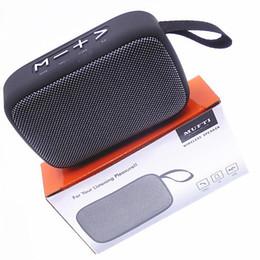Argentina Altavoz inalámbrico Bluetooth Mini Radio FM Subwoofer Vida al aire libre Playa a prueba de agua Altavoces portátiles para teléfono celular de alta fidelidad Sonido grande y grande Suministro