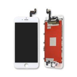 Caméra frontale iphone blanc en Ligne-A +++ Qualité Blanc Noir LCD Pour Apple iPhone 6s plus LCD Écran tactile Digitizer et caméra frontale Assemblée de remplacement Aucun pixel mort
