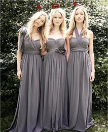 Onur Elbiseler Abiye Giyim Uzun Gelinlik Modelleri Kat Uzunluk Genç Bridemaids Parti Wear 2020 Vintage A Hattı şifon Hizmetçi nereden