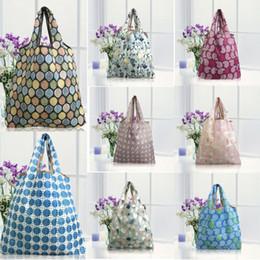 2019 koreanische stickentasche Wasserdicht faltbare wiederverwendbare einkaufs reise umhängetasche tasche handtasche nylon