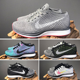 2020 chaussures tissées mens casual Nike Air Zoom Marish Flykit 2020 Zoom Mariah Fly Racer 2 Femmes Hommes Athletic tous rouge vert noir Chaussures Casual tissage Zoom Racer Sneaker Taille 36-45 Formateurs chaussures tissées mens casual pas cher