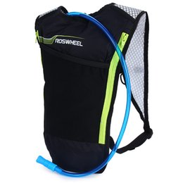 water packs for hiking Promo Codes - 5L Bike Hydration Backpack with 2L Water Bag for Camping Cycling Hiking