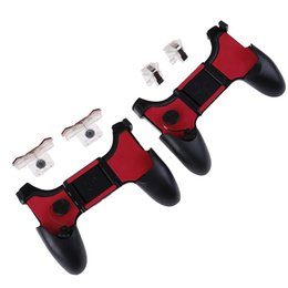5 in 1 controller pieghevole per impugnatura PUBG Game Pad Grip Fire Shooter per IPhone Android Gamepad Joystick Mobile Phone da