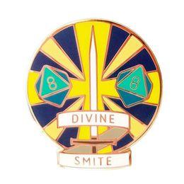 2019 piedini drago Dungeons and Dragons Divine Smite Smiley Pin sconti piedini drago