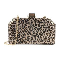 sacos de noite de impressão animal Desconto Animal print leopardo vestido de festa de noite embreagens sacos para senhora