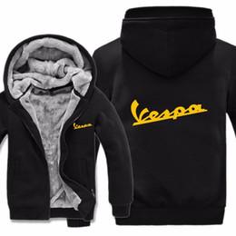 Шерстяная толстовка для мужчин онлайн-2019 Free Shipping Men Casual Wool Liner Fleece  Scooter Sweatshirts Hoody Pullover  Hoodies Jacket Winter