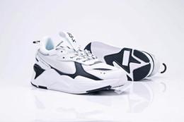 Кроссовки евро онлайн-PUMA RS-X 2019 новый цвет Desiner Sneakerx Трансформеры RS-X Runner ретро кокосовые кроссовки мужская спортивная обувь марки Tide EURO 36-45
