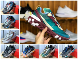 shoe air 87 Promo Codes - 2020 React Element 87 Undercover X Upcoming Running Shoes Sail Light Bone Blue Chill Solar Anthracite Black Designer Sports Air Tn Sneakers