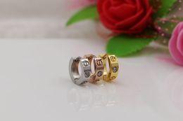 Серьги для пары онлайн-2019 Hot sell screw love earrings for women men couple jewelry Titanium brand wholesale christmas earrings boutique