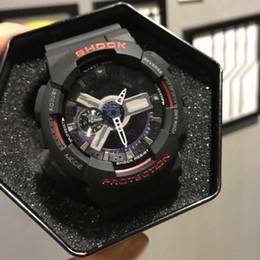 2019 nueva moda para hombre resistente al choque reloj de calidad superior reloj de diseño de lujo multifunción protección de agua luz reloj de alarma venta caliente barato desde fabricantes