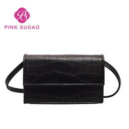 db10d8f59f2b 2019 шикарный кожаный мешок Розовый Sugao сумки через плечо кошельки  шикарные модные женские сумки PU кожаные
