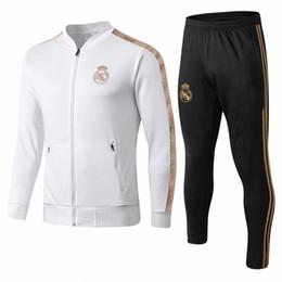 Canada survêtement du Real Madrid 2019/2020 football adulte chandal Maillot De Foot survêtement 2019/20 survêtement de sport survêtement Sportswear supplier tracksuit sport Offre
