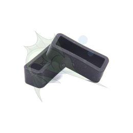 2pcs / lot Black Silicone Watchband toit Universal Caoutchouc Montre Bracelet Keeper Watchband Bague Titulaire Pièces ? partir de fabricateur