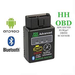 Argentina ELM327 V2.1 Bluetooth HH OBD OBDII avanzado OBD2 ELM 327 Auto escáner de diagnóstico del coche lector de código herramienta de escaneo azul venta caliente cheap diagnostic tools for sale Suministro