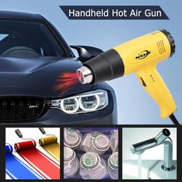 materiali da parete Sconti Temperatura regolabile palmare pistola ad aria calda industriale pistola elettrica di calore per Wall Paper sverniciatura Strumenti ABS Materiale