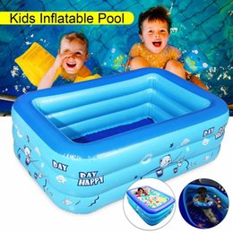 Swimming Pool & Accessories Provided Big Size Butterfly Top Inflatable Thicken Oversized Girls Boys Paddling Pool Family Childrens Pool Summer Water Play Pool
