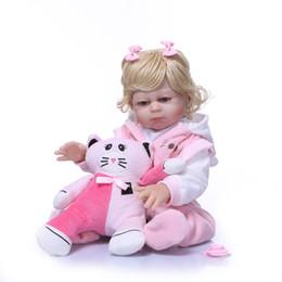 muñecas barbie clásicas Rebajas 50 cm cuerpo completo bebe muñeca renacida silicona renacida muñeca muñeca juguetes para niñas Bonecas recién nacido Bebe cumpleaños regalo baño juguetes