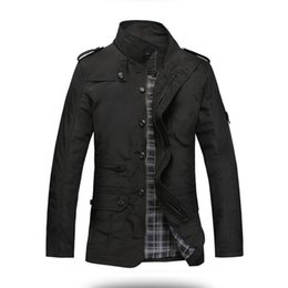 Vender chaqueta coreana online-Actionclub Fashion Thin Men Coat Jacket Hot Sell Casual Wear 5xl coreano Comfort abrigo de otoño abrigo de primavera necesario