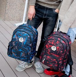 bolsa de ombro cordura Desconto 2020 New ao ar livre sacos de viagem camuflagem mochila computador bag cadeia Oxford Brake ensino médio saco estudante muitas cores