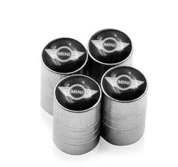 accesorios de cobre Rebajas 4 unids Rueda de coche Válvulas de neumáticos Neumáticos Air Caps case para BMW Mini Cooper 2011 2012 2013 accesorios para automóviles Motocicletas Automóviles