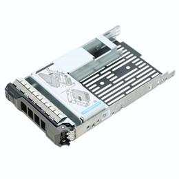 Plateau de disque dur en Ligne-Adaptateur de disque dur pour ordinateur portable Plateau de connexion pour boîtiers de support Caddy 3.5inch à 2.5inch SATA / SAS / SSD pour Dell F238F Y004G 09W8C4
